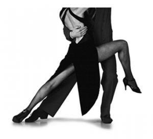 Couple doing the tango