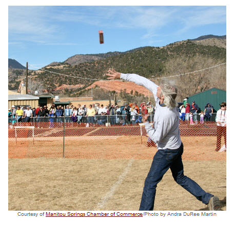 Fruitcake tossing in Manitou Springs, Colorado courtesy HowStuffWorks dot com