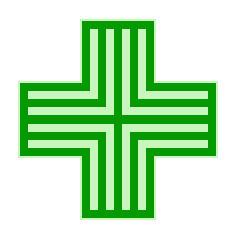 French Pharmacie Symbol
