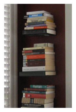 Invisible Book Stacking System