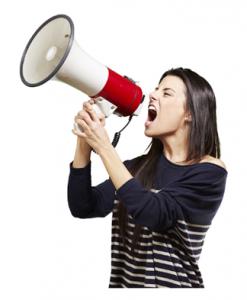 Must women shout to be heard