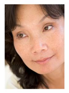Beautiful Midlife Asian Woman