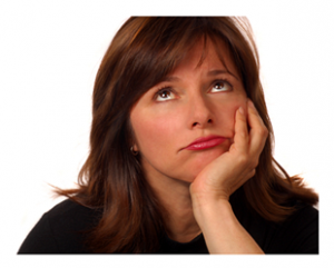 Woman Wondering What Comes Next