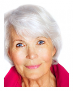 Beautiful Mature Silver Haired Woman