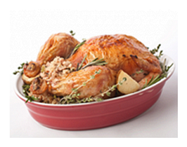 Beautiful Turkey with Fresh Rosemary