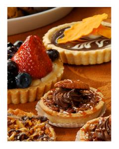 Variety of Holiday Desserts
