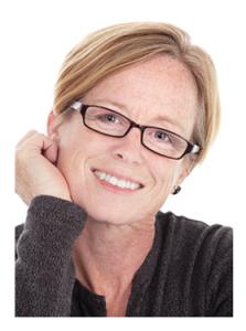 Attractive Mature Woman in Glasses
