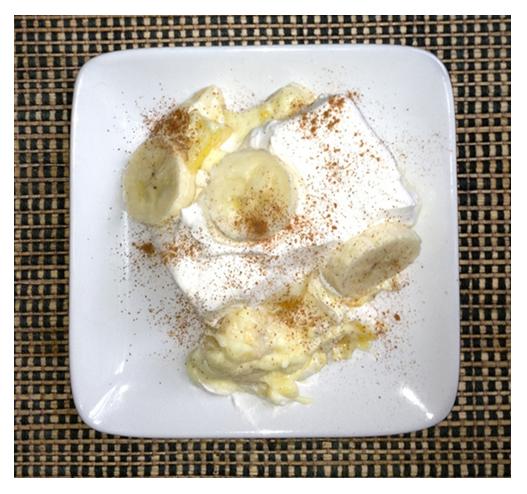 Crustless Banana Cream Pie With Pineapple and Cinnamon