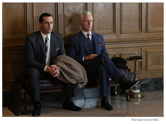 Mad Men Season 6 Episode 6 Don and Roger