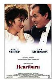 Heartburn with Meryl Streep and Jack Nicholson