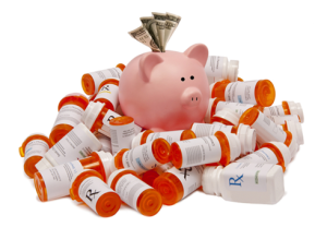 Breaking the Bank to Pay for Pills