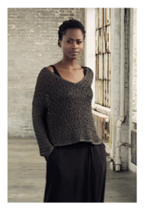 Still from Eileen Fisher Runway Video via Eileen Fisher