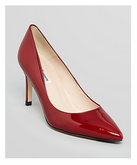 Classic L K Bennett Pointed Toe Pumps