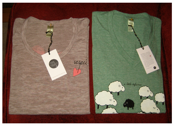 Eco Friendly Tee Shirts from Moral Minority
