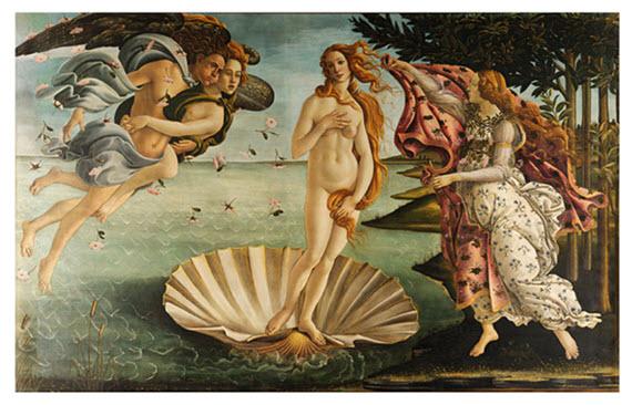 Boticelli Birth of Venus