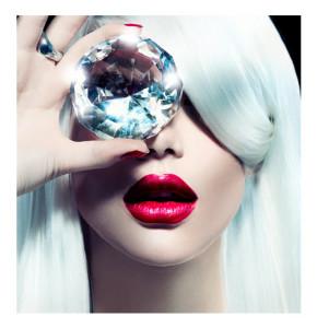 Woman With Huge Diamond