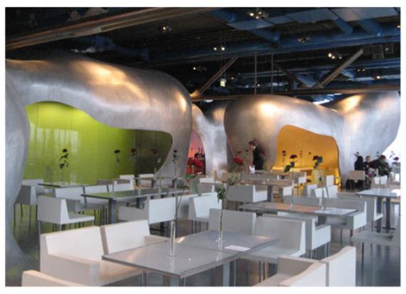 Café Centre Pompidou_Beaubourg