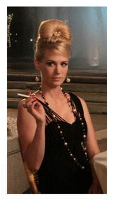 January Jones as Betty Draper in Rome