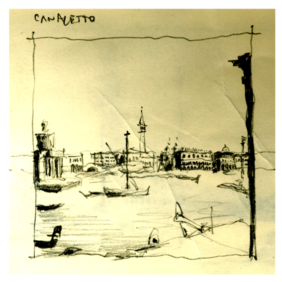 Drawing 2 Canaletto