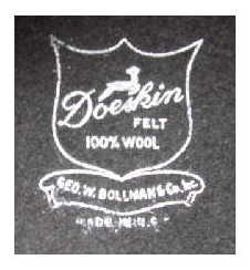 George Bollman Hat Label