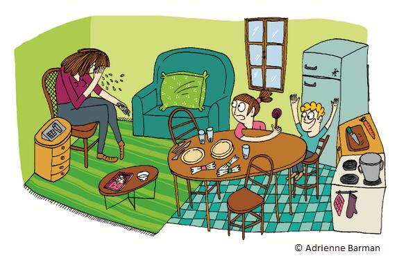Novacarta Illustration by Adrienne Barman