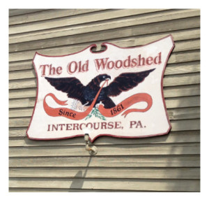 Store Sign in Intercourse PA