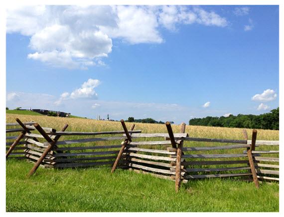 Passing Through Gettysburg PA