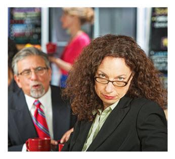 Talkative Man Bored Woman