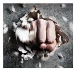 Fist through Wall sm