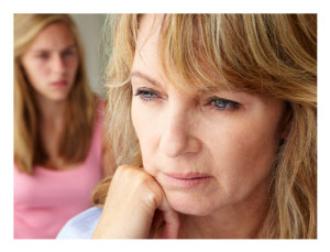 Emotionally Needy Mother With Teen Daughter