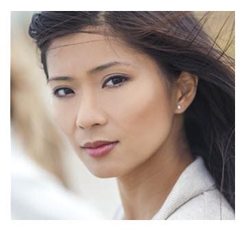 Gorgeous Asian Woman_Portrait
