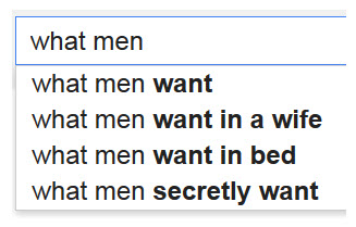 What men want in a relationship with a woman
