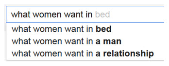 Google What Women Want