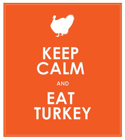 Keep Calm and Eat Turkey