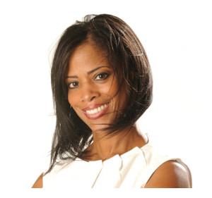 Smiling Confident African American Woman