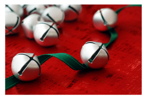 Jingle Bells with Green Ribbon