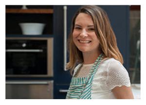 Brigitte in her Kitchen