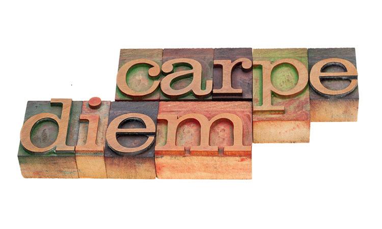 Carpe diem dating