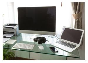 Clean Organized Workspace