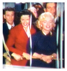 Marilyn and Jane Boat Scene