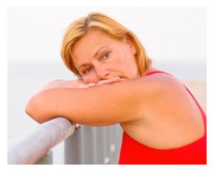 Mature Woman Thinking