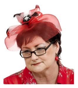 Mature Woman in a Bad Hat