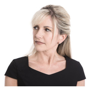 Mature Woman Thinking Looking Left
