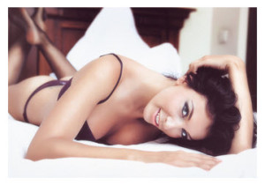 Pretty woman in lingerie