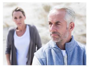 Mature Couple After an Argument