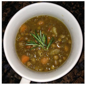 Mad Scientist Organic Lentil Veggie Soup