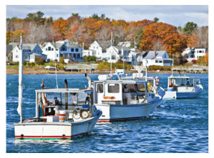 Lobster Fishing Vessels in Maine