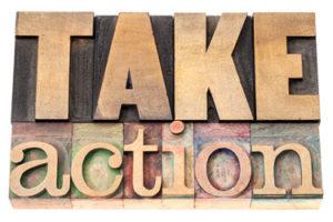 Take Action_Letterpress