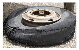 Traffic calming means blown tires and blown days.