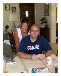 Anissa and Peter Mayhew
